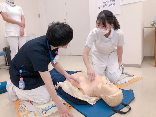 救命医療を体験しました!